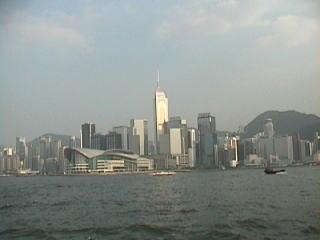 スターフェリーからの香港島.jpg